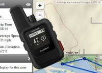 Track or message me via my Garmin inReach mini